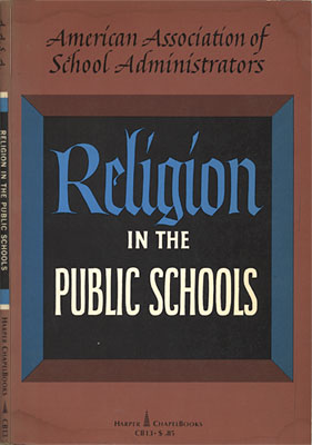 the issue of religion in the public schools of america T here is a great deal of confusion surrounding the issue of religion in public education what can and can't students do what can and can't school officials do horror stories abound that describe students doing what is legally permissible, with school officials reacting in ways not legally permitted.