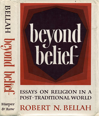 belief beyond essay in post religion traditional world