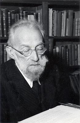 Ismar Freund in Jerusalem