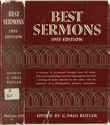 Best Sermons: 1955 Edition