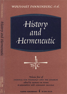 History and Hermaneutic