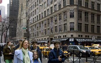 Saks Fifth Avenue, 2007