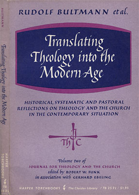 Translating Theology into the Modern Age