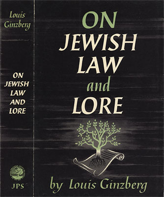 On Jewish Law and Lore