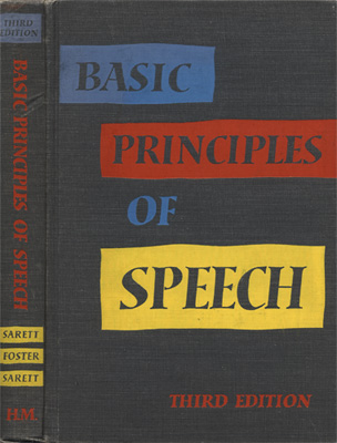 Basic Principles of Speech