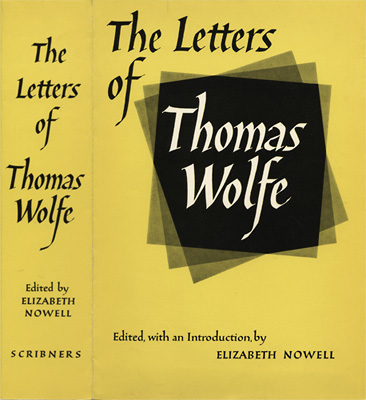 TThe Letters of Thomas Wolfe