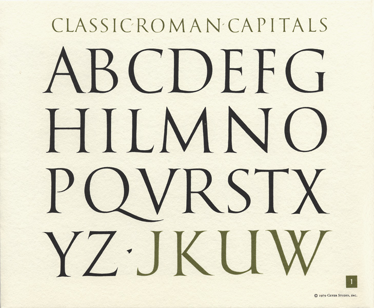 Roman Calligraphy Alphabets | www.imgkid.com - The Image ...