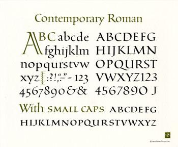 OCH: Contemporary Roman