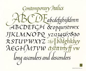 OCH: Contemporary Italics