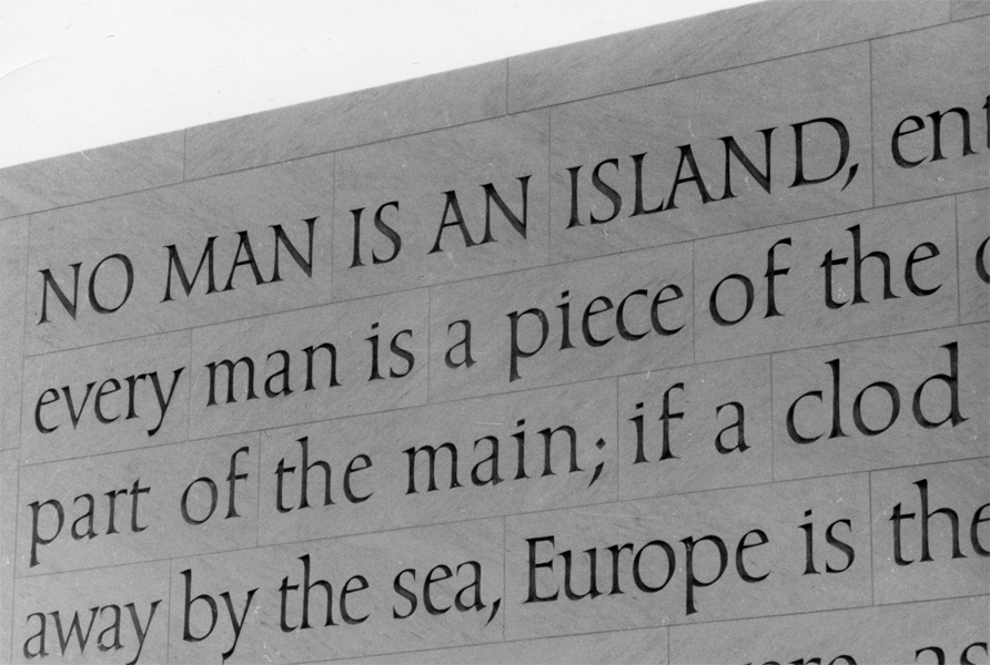 essay on no man is an island