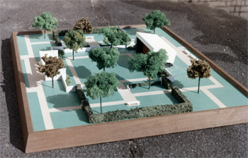 Model for mausoleum