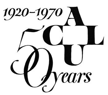 American Civil Liberties Union 50th Anniversary