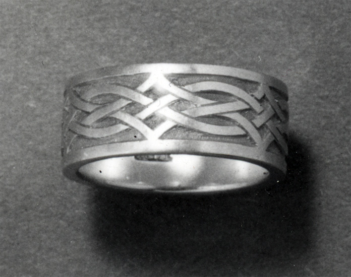 Wedding ring designed for Hortense Mendel 1953