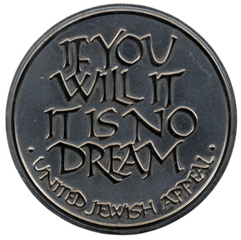 Medal for the United Jewish Appeal
