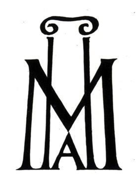 Sketch for Metropolitan Museum of Art logo