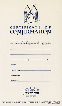 Certificate of Confirmation