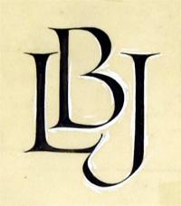 Monogram for Lyndon Baines Johnson