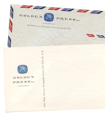 Golden Press envelopes