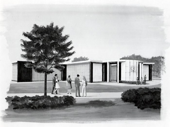 Architectural rendering for Pinelawn
