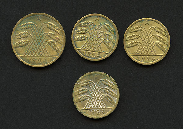 Rentenpfennig and Reichspfenning