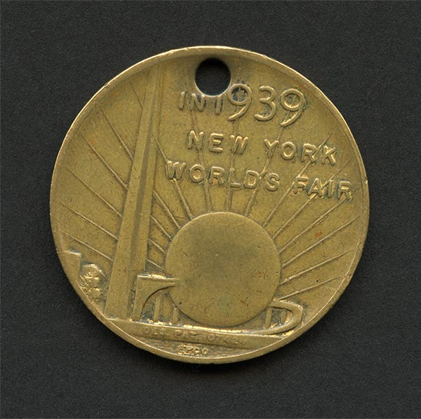 1939 World's Fair coin