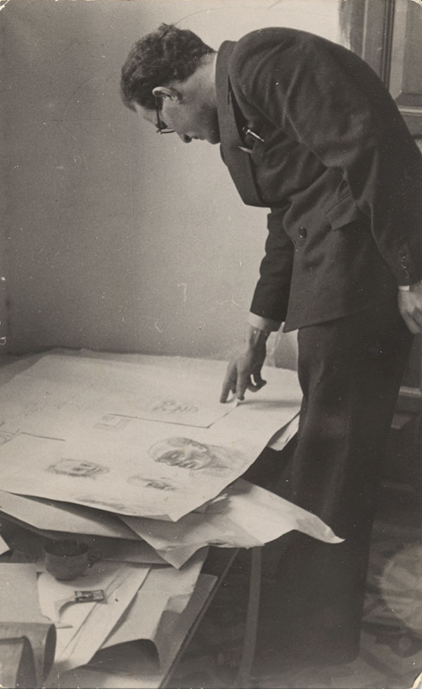 Ismar David and his drawings