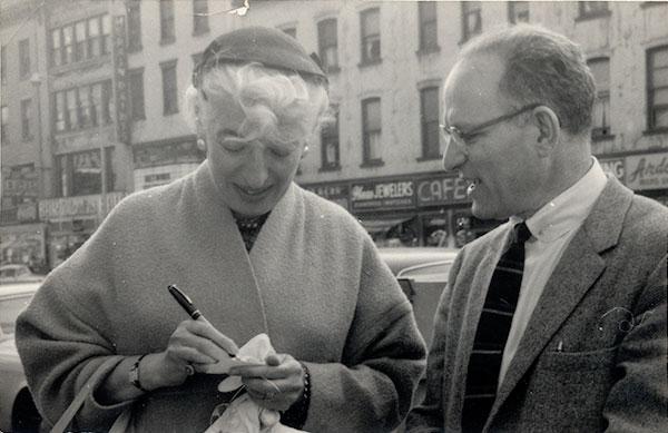 Hortense Mendel and Ismar David
