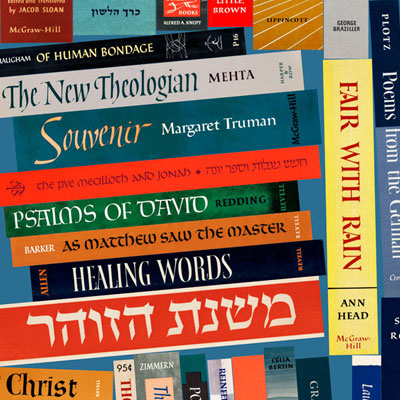 One hundred and forty spines of Ismar David